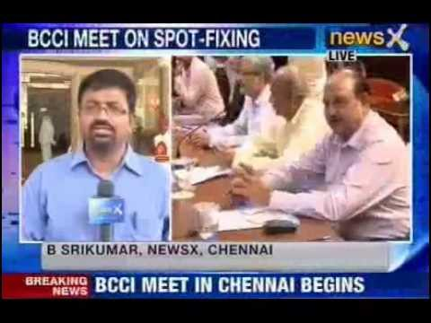 NewsX : IPL 2013 Spot Fixing & Match Fixing Scandal - S Sreesanth's future ?