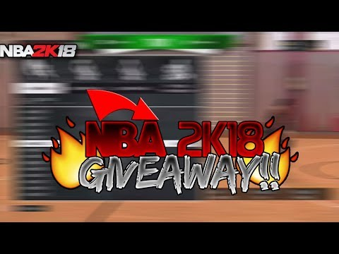 NBA 2K18 GIVEAWAY ! | HOW TO ENTER | *MUST WATCH* | GET NBA 2K18 FREE!