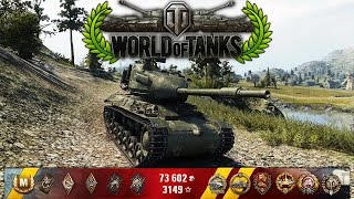 World of Tanks - Strv 74 - 9 Kills - 4.2k Damage - 1vs5 [Replay|HD]