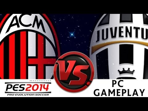 [TTB] PES 2014 - AC Milan Vs Juventus - Ep1 - Superstar Difficulty - PC Gameplay