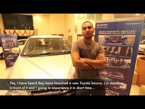 New Toyota Innova 2013 - Real People. Real Reviews - Sandeep Chauhan.