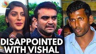 Being a Friend, Vishal Didn't Help Me   Yaashika & Actor Udhaya Speech