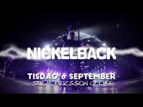 Nickelback - Ericsson Globe, Stockholm - 6 september 2016