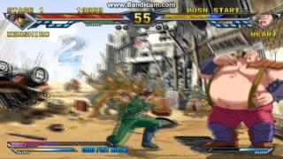 hokuto no ken ps2  -arcade mode- kenshiro vs mr.heart