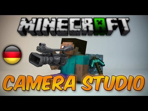 Minecraft Mods : Camera Studio - Beste Cinematics [Deutsch - HD]