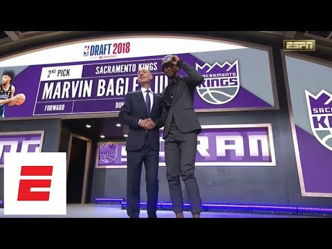 Kings take Marvin Bagley III with No. 2 pick in 2018 NBA draft [pickanalysisinterview] | ESPN