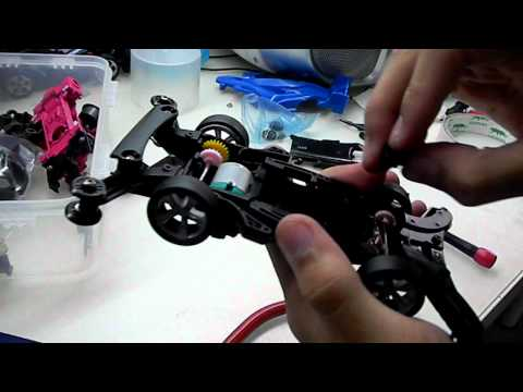 How to smoothen Tamiya Mini 4wd Ball Bearing Method 2 (without Liquids)