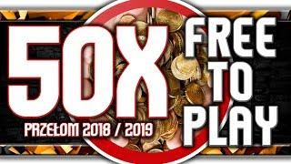 🔥 Przegląd 50X FREE TO PLAY / Gry darmowe przełomu 2018 i 2019