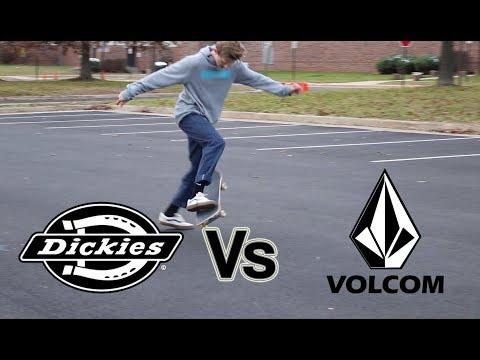 DICKIES VS VOLCOM PANTS