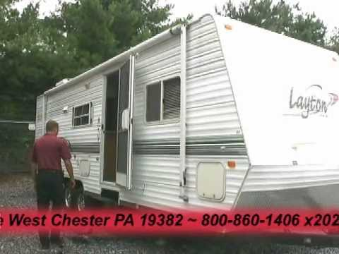 *SOLD* 2003 Layton Scout 308 SS travel trailer -- 30220A