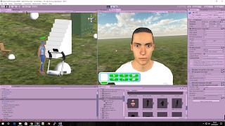 La Vida - Sims like game made with Unity 3D
