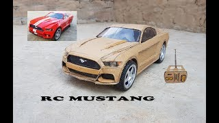 WOW! Super RC Mustang  || DIY || Cardboard Ford Mustang || How to make Electric Toy Car