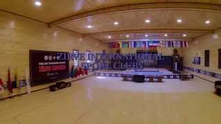 Competition Hall of Zirve International Sport Clubs - VİDEO (Demo version)