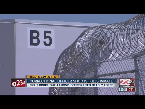 Inmate inside Calif. prison shot, killed by CO