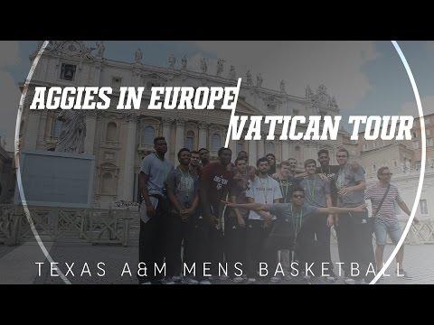 Aggies In Europe | Vatican Tour
