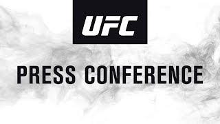 UFC 236: Seasonal Press Conference