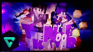 [Minecraft : TheNoobSKYWAR] ไม่มีโปหรอก w/RunnerCraft