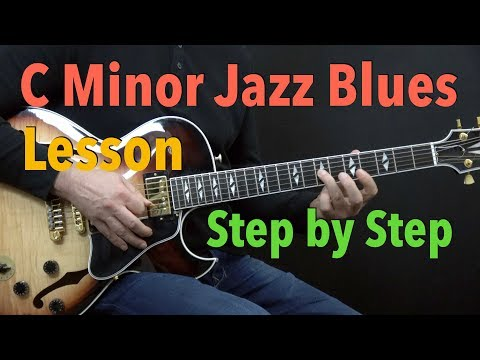 Lessons - Blues - Minor Blues Jazz