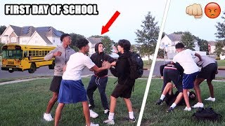 I Got Jumped By My Bully On The First Day Of School...*not clickbait*