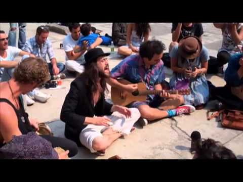 Edward Sharpe &amp; the Magnetic Zeros &quot;Up from Below&quot; LIVE