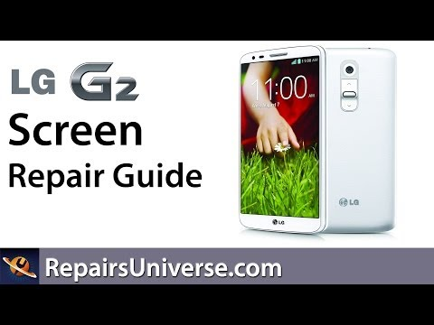 LG G2 Screen Replacement Repair Guide