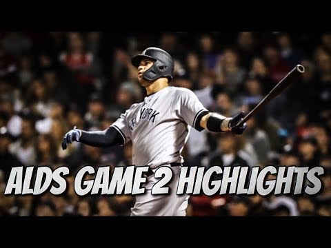 ALDS Game 2: Yankees @ Red Sox | Yankees Highlights