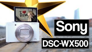 Best travel camera 📸  | Sony DSC-WX500 review | vlogging camera