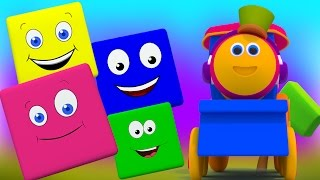 Bob Warna Melatih   Anak pembelajaran Video   pendidikan video   belajar warna   Bob Color Ride