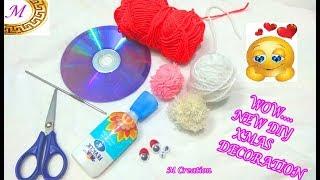 DIY Christmas craft/Santa clus making/how to make santa clus toy