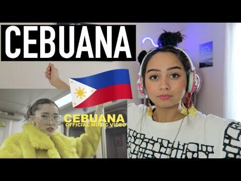 CEBUANA - KARENCITTA MUSIC VIDEO REACTION
