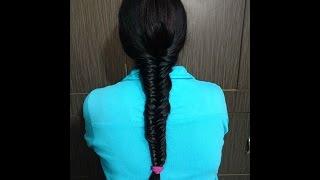 Khajuri Choti Hair Style - Hindi