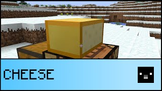 CRAFTING AND EATING CHEESE (Vanilla Minecraft 1.9)