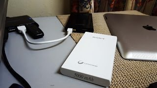 Sony Power-bank Unboxing (Black)