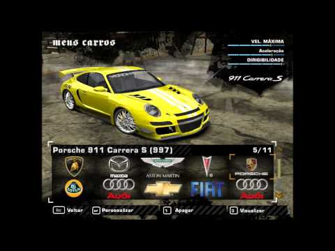 meus carros de need for speed