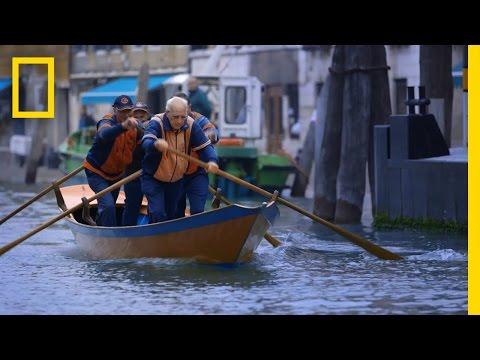 The Venetian Art of Rowing