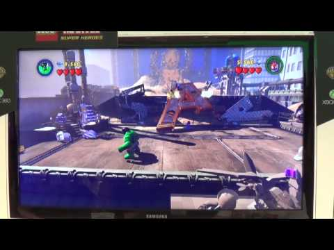 LEGO Marvel Superheroes for Xbox One and 360 - Sandman Boss Battle (E3 2013)