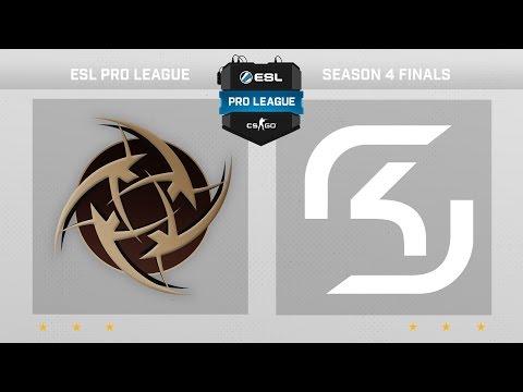 CS:GO - NiP vs. SK [Cbble] - Finals ESL Pro League Season 4 - Day 1 - Group B