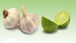 Natural Way To Unblock Arteries - روش تهیه عصاره سیر و لیمو برای پاک کردن رگها