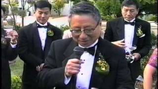 Funny Toast by the Father of the Bride at the Reception About Reading Her Diary