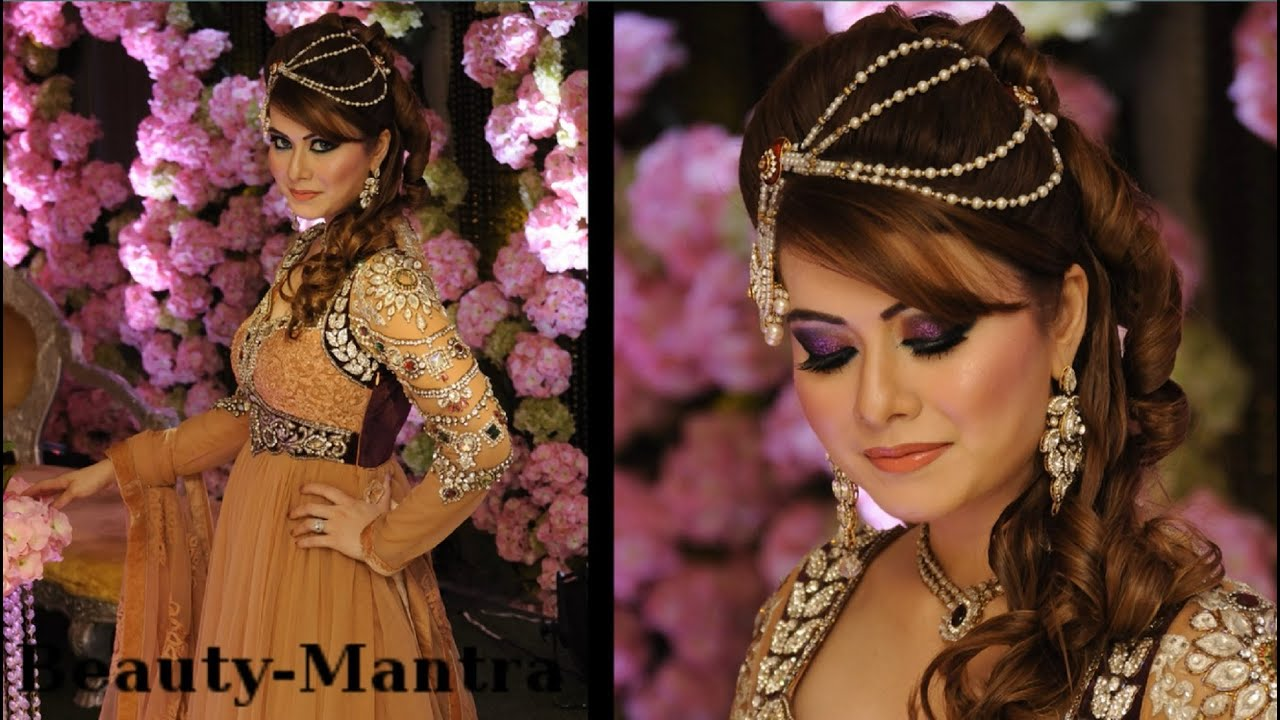 Complete Wedding Makeup G2671 : arabic hair do submited images.