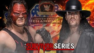 Kane vs The Undertaker for Championship