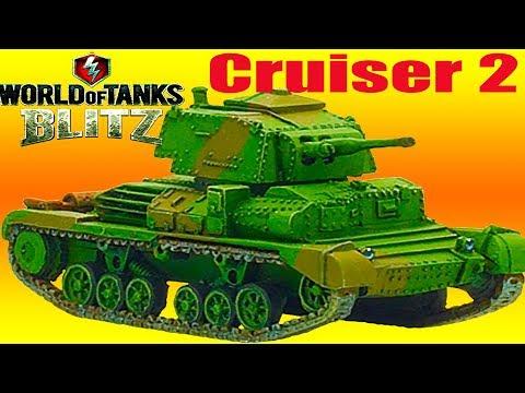 WoT Blitz обзор танк Cruiser 2 лёгкий британский новичкам британская ветка World of Tanks Blitz#60