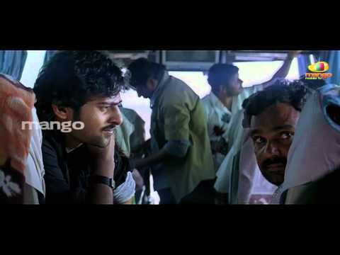 prabhas comedy in bus - Baahubali prabhas bujjigadu movie comedy...