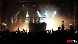 Deadmau5 - Live @ Soldier Field, Chicago, 2010.07.02 || Deadmau5 - Strobe (Original Mix)