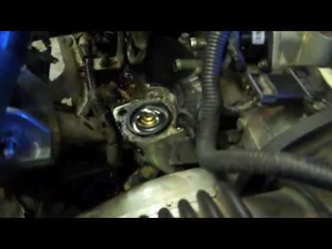 Thermostat replacement on a 97 pontiac grand prix