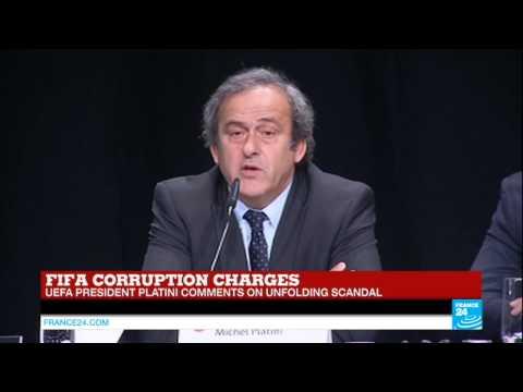 Michel Platini on FIFA corruption scandal: