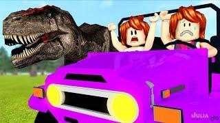 Roblox - ESCAPE DOS DINOSSAUROS (Dino World OBBY)