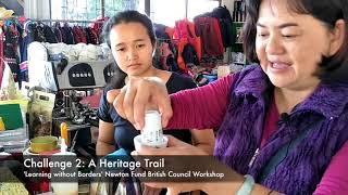 HeritageTrail: Tea making at Mae Salong resort.