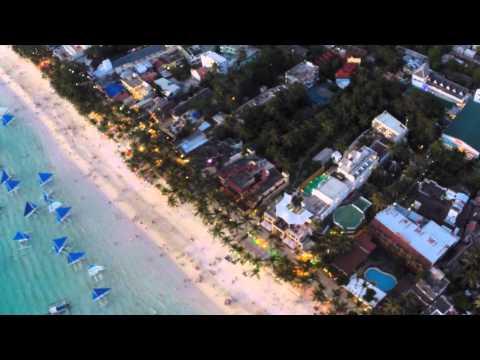 GoPro: Drone over White Beach, Boracay, Philippines