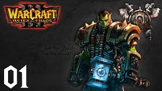 WarCraft 3: Reign of Chaos - Orc Campaign #1 - Landfall